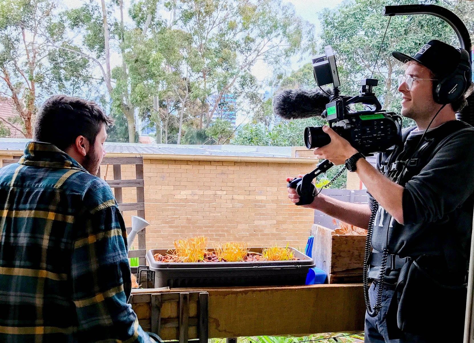 Behind The Scenes of a Full Stack Films video production